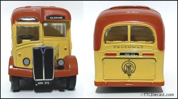 CORGI 97063 The Buses of Yelloway - Aec Regal & Bedford OB (1/50) * PRE OWNED *